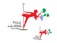 Pole in the Wine Country Retreat  Logo - Entry #6