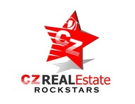 CZ Real Estate Rockstars Logo - Entry #146