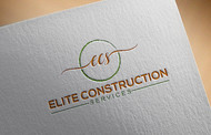 Elite Construction Services or ECS Logo - Entry #278