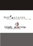 Logo for WebAlarms - Alert services on the web - Entry #6