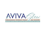 AVIVA Glow - Organic Spray Tan & Lash Logo - Entry #102