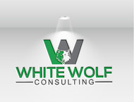 White Wolf Consulting (optional LLC) Logo - Entry #391