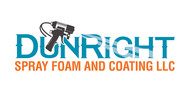 Dun Right Spray Foam and Coating LLC Logo - Entry #64