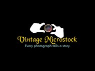 Vintage Microstock Logo - Entry #93