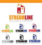 STREAMLINE building & carpentry Logo - Entry #17