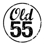 """""""OLD 55"""" - mid-century vintage furniture and wares store Logo - Entry #71"""