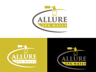 Allure Spa Nails Logo - Entry #107