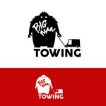 Big Man Towing Logo - Entry #10