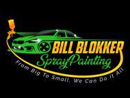 Bill Blokker Spraypainting Logo - Entry #7
