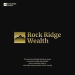Rock Ridge Wealth Logo - Entry #264