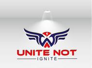 Unite not Ignite Logo - Entry #79