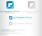 Letterman White Consulting Logo - Entry #81