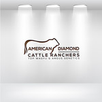American Diamond Cattle Ranchers Logo - Entry #56