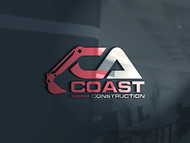 CA Coast Construction Logo - Entry #140
