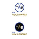 the wealth boutique Logo - Entry #66