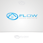 Flow Real Estate Logo - Entry #43