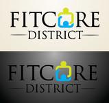 FitCore District Logo - Entry #1