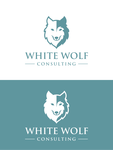 White Wolf Consulting (optional LLC) Logo - Entry #233