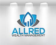 ALLRED WEALTH MANAGEMENT Logo - Entry #840