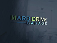Hard drive garage Logo - Entry #205