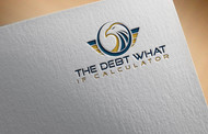 The Debt What If Calculator Logo - Entry #95