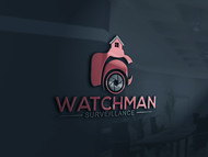 Watchman Surveillance Logo - Entry #168