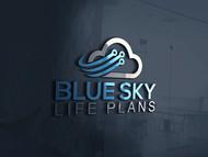 Blue Sky Life Plans Logo - Entry #405