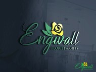 Engwall Florist & Gifts Logo - Entry #253