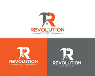 Revolution Roofing Logo - Entry #302