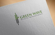 Green Wave Wealth Management Logo - Entry #6