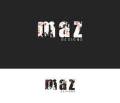 Maz Designs Logo - Entry #408