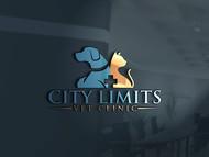City Limits Vet Clinic Logo - Entry #264