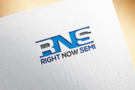 Right Now Semi Logo - Entry #25