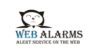 Logo for WebAlarms - Alert services on the web - Entry #42