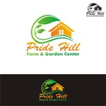 Pride Hill Farm & Garden Center Logo - Entry #140
