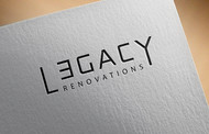 LEGACY RENOVATIONS Logo - Entry #195