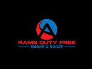 Rams Duty Free + Smoke & Booze Logo - Entry #47