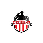 """We Hire Heroes""  Or ""We Hire Veterans"" Logo - Entry #30"
