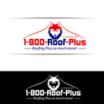 1-800-Roof-Plus Logo - Entry #24