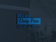Rams Duty Free + Smoke & Booze Logo - Entry #85