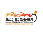 Bill Blokker Spraypainting Logo - Entry #155