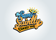 The Semi-Saintly Comedy Tour Logo - Entry #19
