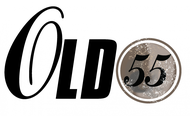 """""""OLD 55"""" - mid-century vintage furniture and wares store Logo - Entry #236"""