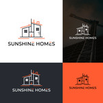 Sunshine Homes Logo - Entry #158