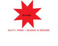 Rams Duty Free + Smoke & Booze Logo - Entry #324