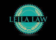 Leila Law Logo - Entry #22