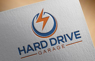 Hard drive garage Logo - Entry #138
