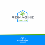 Reimagine Roofing Logo - Entry #198