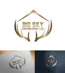 Big Sky Custom Steel LLC Logo - Entry #64