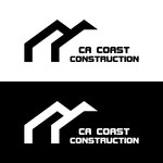 CA Coast Construction Logo - Entry #293